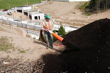 Blower Truck Soil Applications